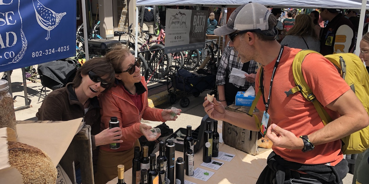 Extra Virgin Olive Oils, EVOOs, Telluride Mountainfilm Farmers Markets